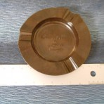 Cunard Line: Brown Bakelite Ashtray
