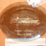 Cunard Line: Cunard Countess Inaugural cruise dish