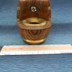 P&O Orient Line: SS Oronsay Barrel Ashtray