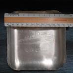 Cunard Line: RMS Carmania Aluminum dish