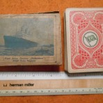 HAL: Statendam Playing Cards