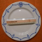 Munson Line: Dinner/Lunch China Plate Restocked