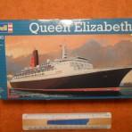 Cunard Line: QE2:1200 Revell plastic model kit