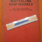 Various Liners: Waterline Ship Models  EC Talbot Booth RNR