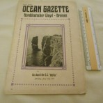 NDL: SS Berlin 1911 Ocean Gazette