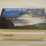 Royal Caribbean: Majesty of the Seas postcard ship album