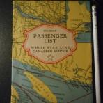 White Star Line: SS Albertic 1930 Tourist Passenger List