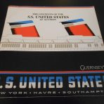 United States Lines: SSUS 1984 Auction Catalogue