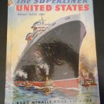 "United States Lines: Elf book "" The Superliner United States, world's fastest liner."""