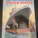 "United States Lines: Elf book "" The Superliner United States, world's fastest liner."""