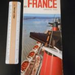 French Line: SS France Greets You Brochure Booklet.