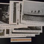 Cunard Line: 15 Queen Mary 8×10 repo photo prints