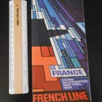 French Line: SS France 1969 deluxe rates and sailings brochure