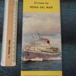 Union Castle Line: Reina Del Mar deckplan