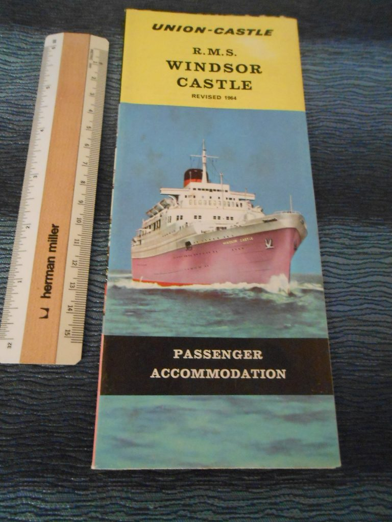 Union Castle | The Grand Liner Lounge