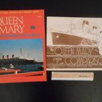 Cunard line: Queen Mary Superliner Pictorial and Comparisons Reprint