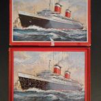 United States Lines: SS United States Victory Constructional puzzle.