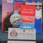 Cunard White Star Line: Hotel Queen Mary 6 Item packet