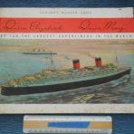 "Cunard WSL Line: "" QE?QM Cunard's Wonder Ships"" Brochure"