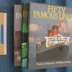 Fifty Famous Liners 3 Book Set by Frank O Braynard and Bill Miller