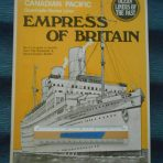 Canadian Pacific: Ocean Liners of the Past Empress of Britain book
