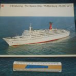 German Atlantik: SS Hamburg the Spaceship Brochure