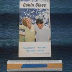 Cunard WSL Line: Cabin Class fold out