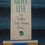 Grace Line: Deluxe 12 day Cruise to South America 1952 Folder.
