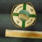 Grace Line: Santa Maria Lifesaver souvenir