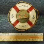 United States Lines: SS America Lifesaver souvenir