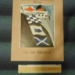 French Line: Ile De France Ultimate Post war brochure.