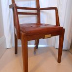 Cunard White Star Line: Queen Mart 3rd Class/ Tourist Dining Chair!
