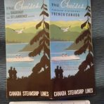 Canada Steamship Lines:  1961 Canadian Cruise folder.
