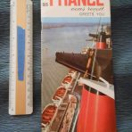 French Line : SS France Greets You Brochure