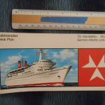 German Atlantik: Hanseatic 2 Deck Plan Booklet.