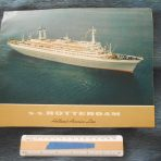 Holland American Line: SS Rotterdam flagship brochure.