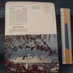 Grace Line: Santa Paula and Santa Rosa glossy letter card.