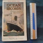 Booklet: Ocean Records 1926