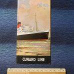 Cunard: Mauretania 2 Interior Foldout