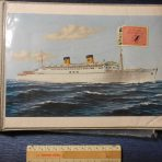 Homes Lines: SS Homeric Scrapbook/Picture Album