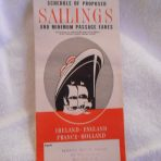 HAL: October 1957 Sailings