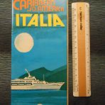 Costa Line: Italia Deckplan Brochure