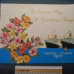 NGL: The Bremen Europa Caribbean Bouquet 1971 Brochure