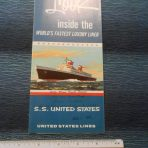 Unites States Lines: SS United States: A Look Inside