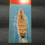 Cunard: Timetable and Rates for 1968