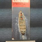 Cunard Line: Rates and Time Table 67-68