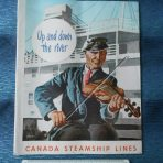 Canada Steamship Lines: 1950 Cruise Season Brochure.