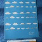 Cunard Line: Queen Elizabeth 1950 Fleet Menu