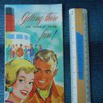 Cunard Line: Getting there if Half the Fun Mini Brochure