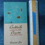 Cunard Line: Cocktails-Liquers -Cigars- Cigarettes List 1951